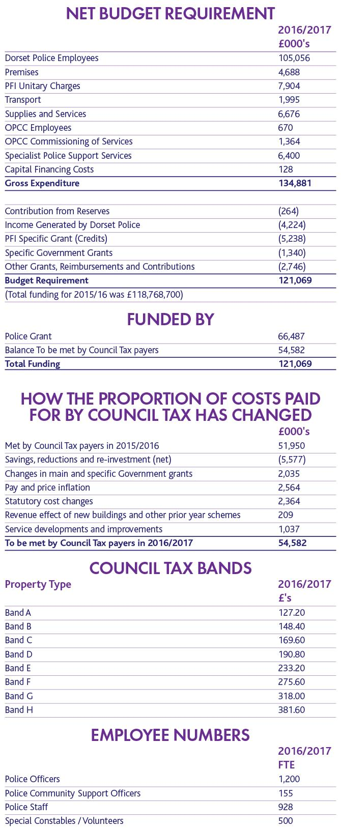 Council Tax Graphic 2016-17