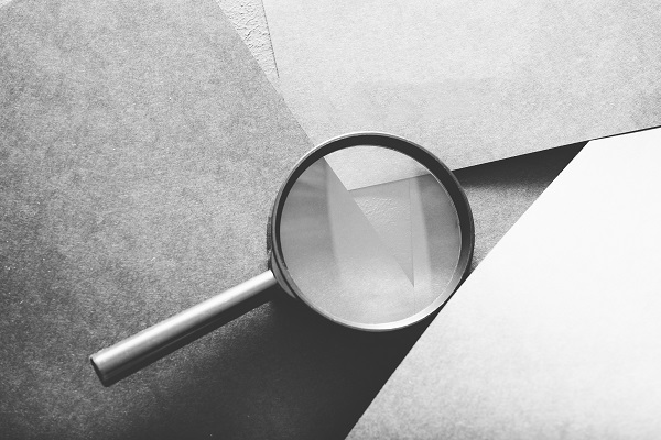 magnifying glass - independent scrutiny of police activity